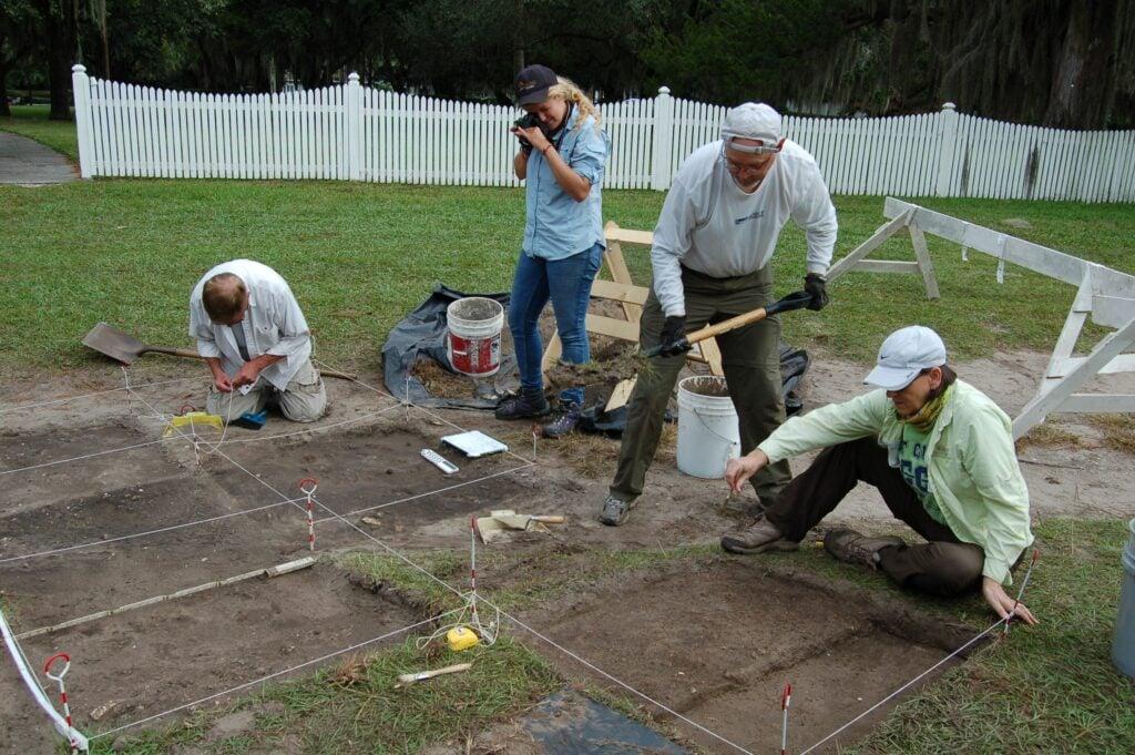 archaeology field school st simons georgia